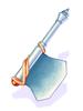 達人の斧 [2]