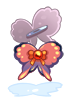 蝶のツインバレッタ