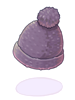 [衣装] 毛糸の帽子(灰)
