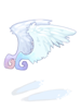 天使の羽耳